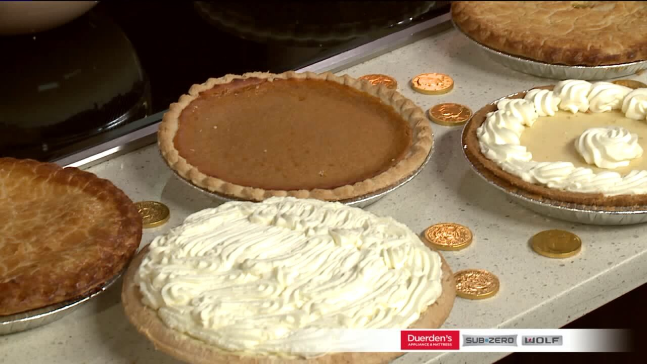 Harmons Recipe: Irish Cream Pie