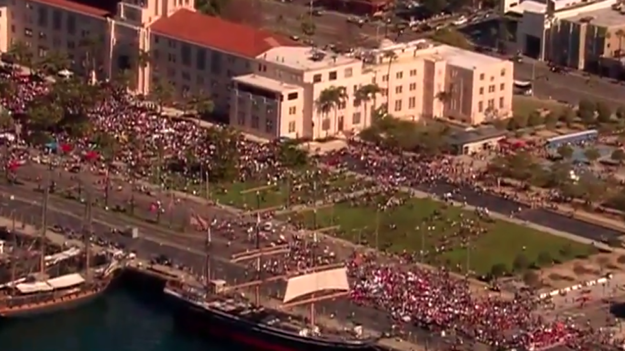 san diego womens march 2019