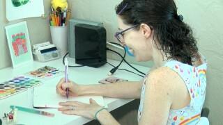Jenipher Lyn drawing