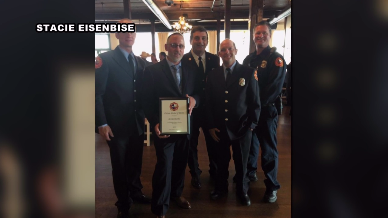 Waco Fire Honors Ben Eisenbise