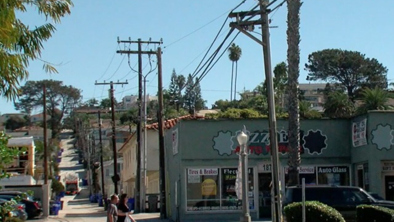 San Diego to move power lines underground