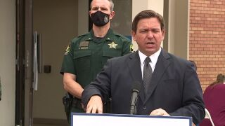 DeSantis in Pasco County