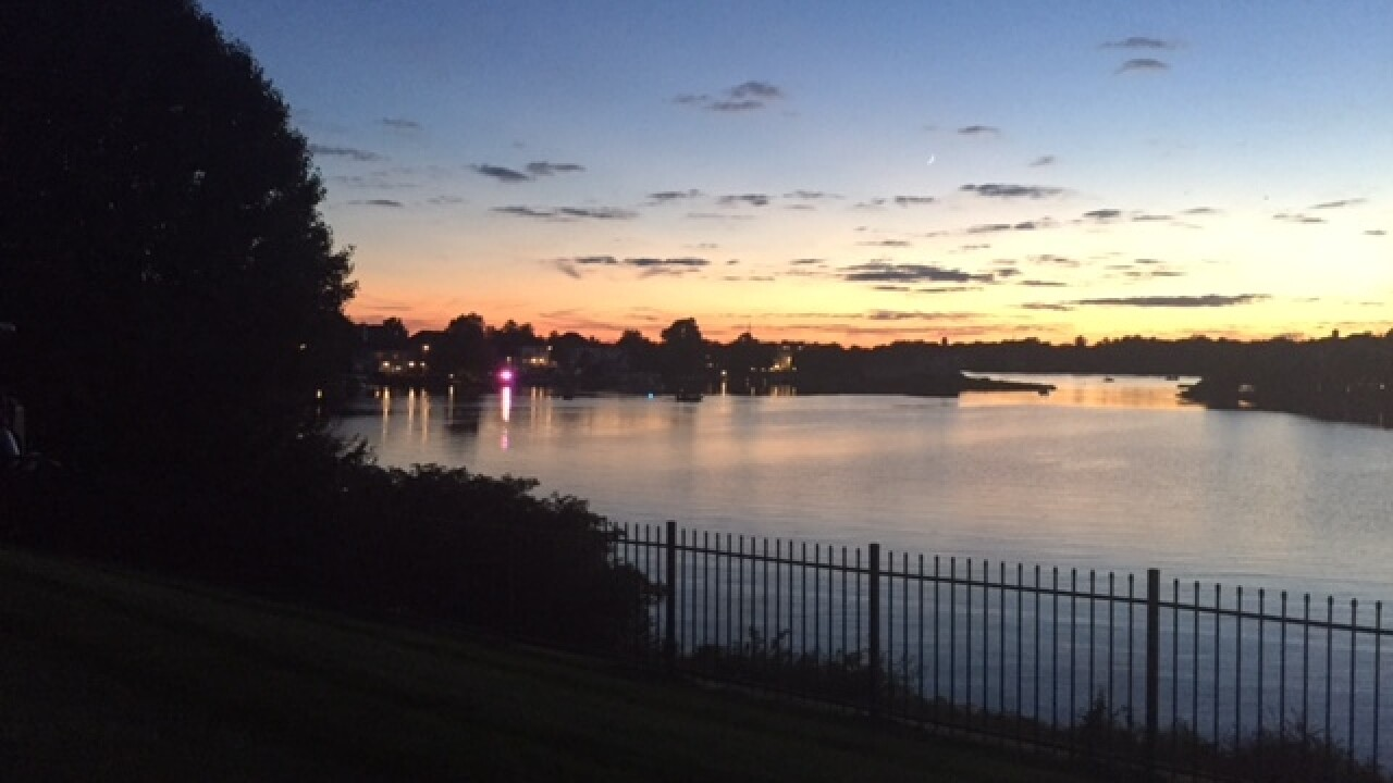 Police searching for man at Geist Reservoir