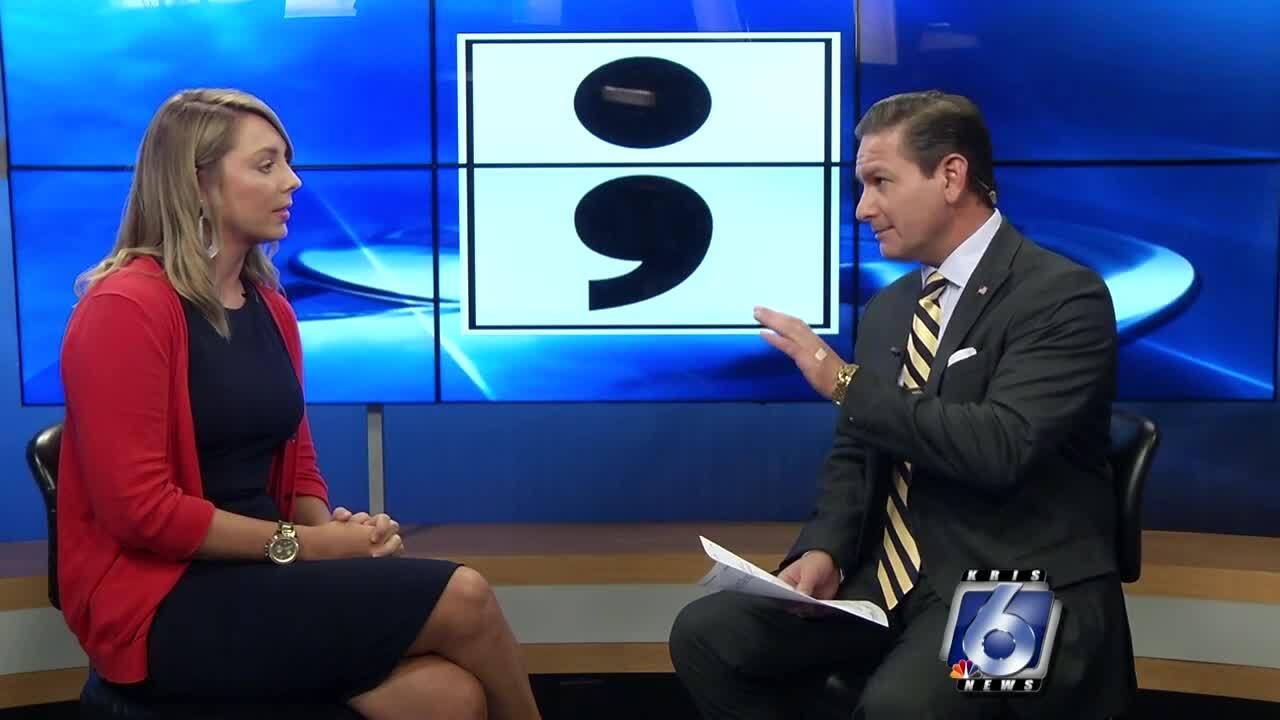 Courtney Smith-Chavez meets with Paulo Salazar