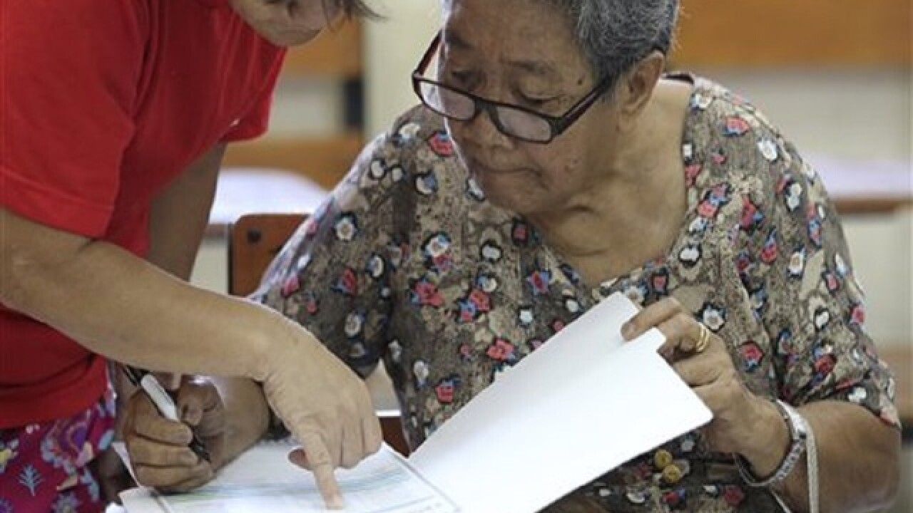 Voting begins for president in Philippines