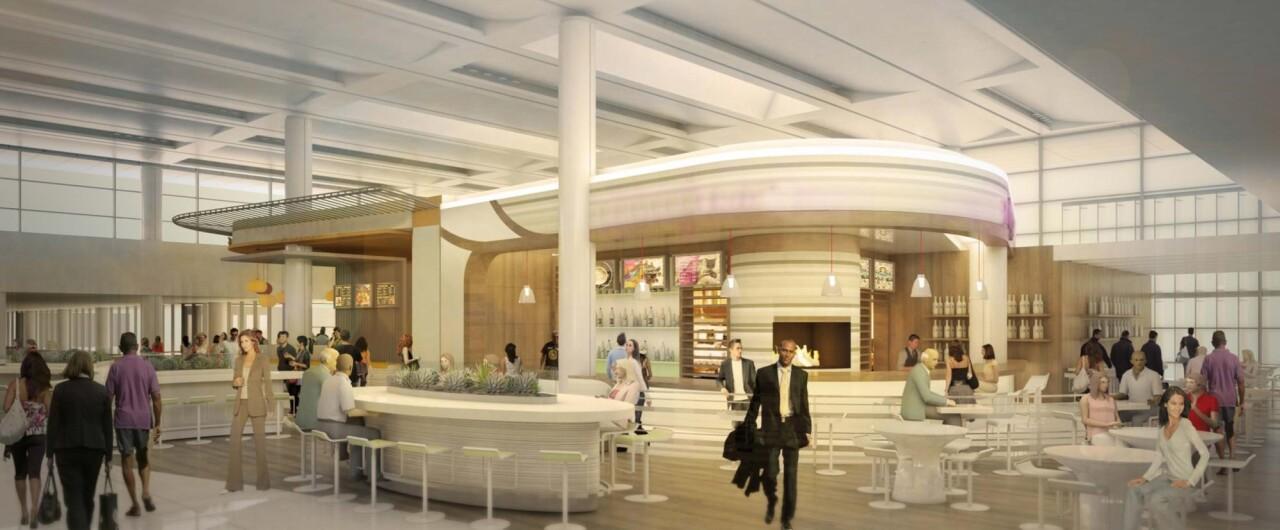 Phoenix Sky Harbor Terminal 3 North Concourse artist rendering 1