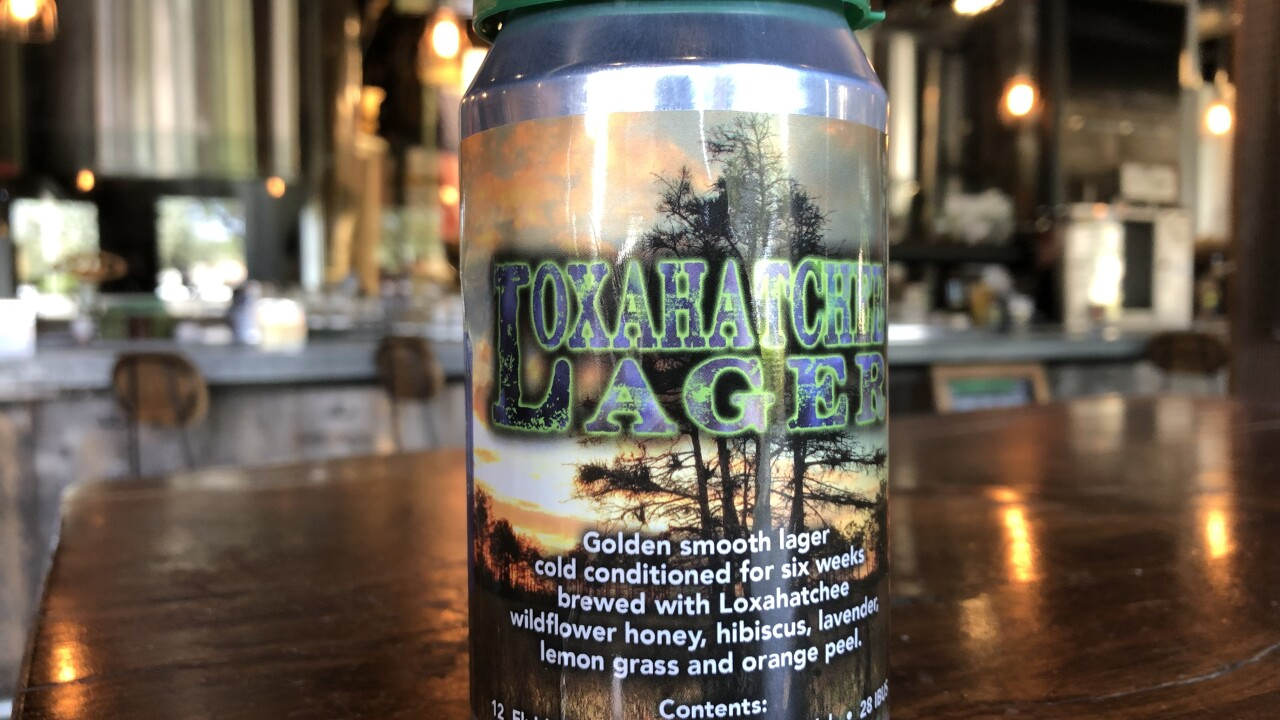 Loxahatchee Lager is being released by Twisted Trunk this weekend to support Palm Beach County's natural areas.