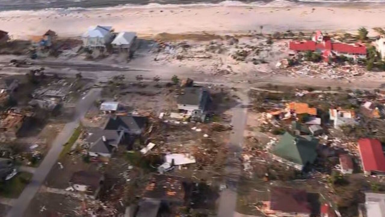 Hurricane Michael destroys Mexico Beach, Florida