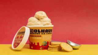Ritz Is Launching New Crackers & Cream Ice Cream