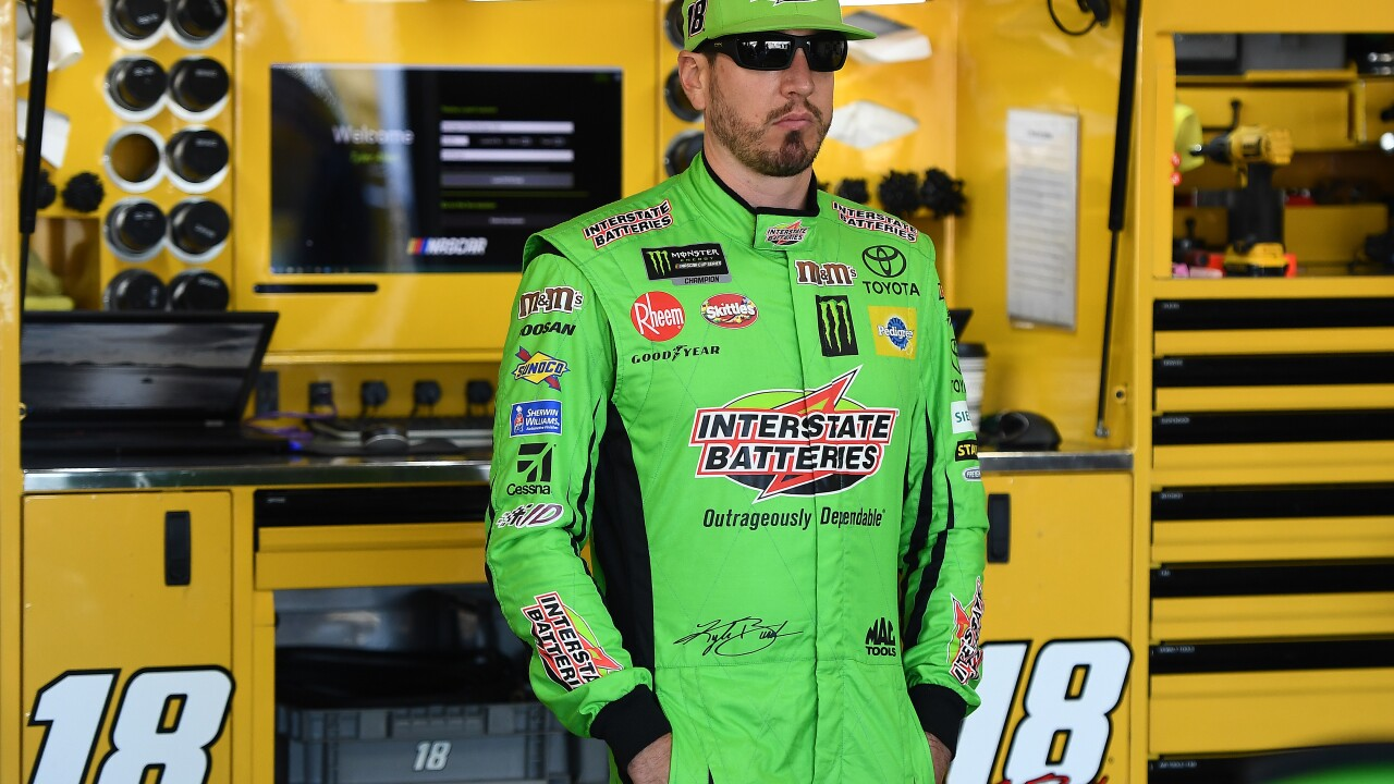 NASCAR drivers pushing limits on track, pointing fingers