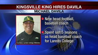 Michael Davila hired as new head football coach at Kingville H.M. King