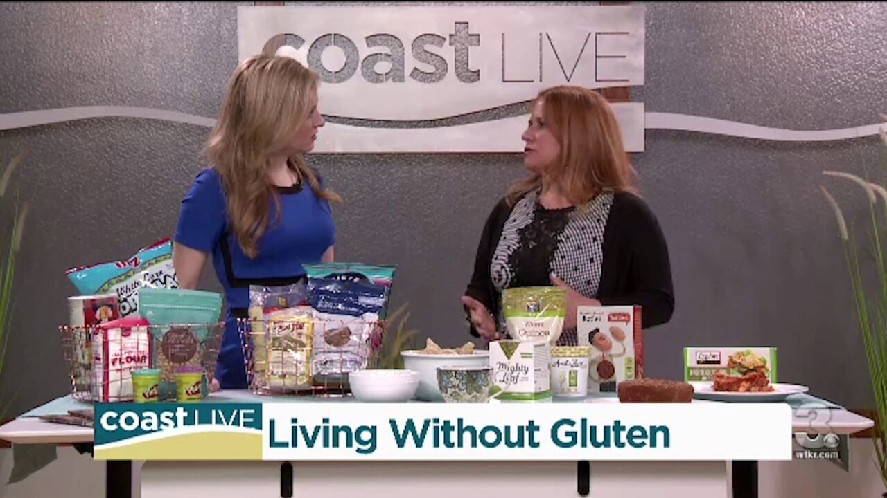 Exploring the gluten-free diet, how and why, on Coast Live