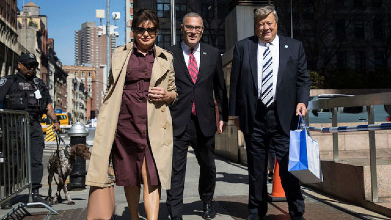 Melania Trump's parents, Viktor and Amalija Knavs, are now US citizens