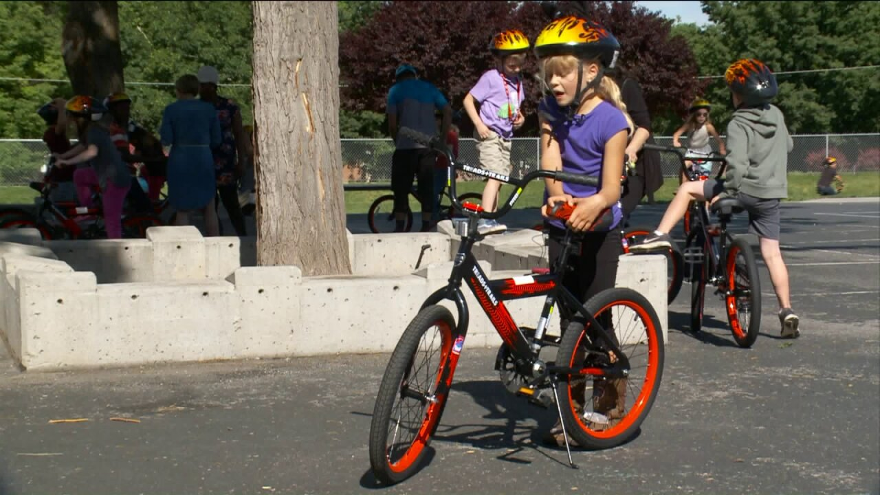 SLC students roll into summer with brand new bikes built bycommunity