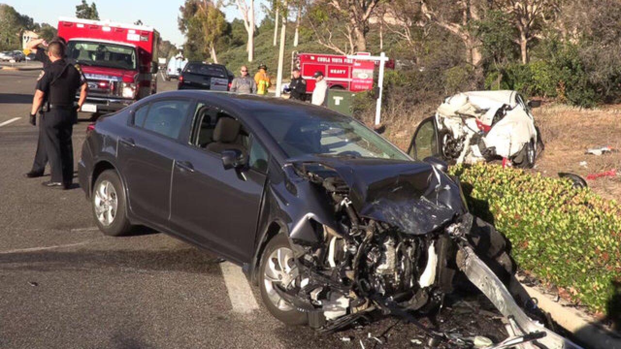 CVPD: Car's illegal U-turn leads to crash