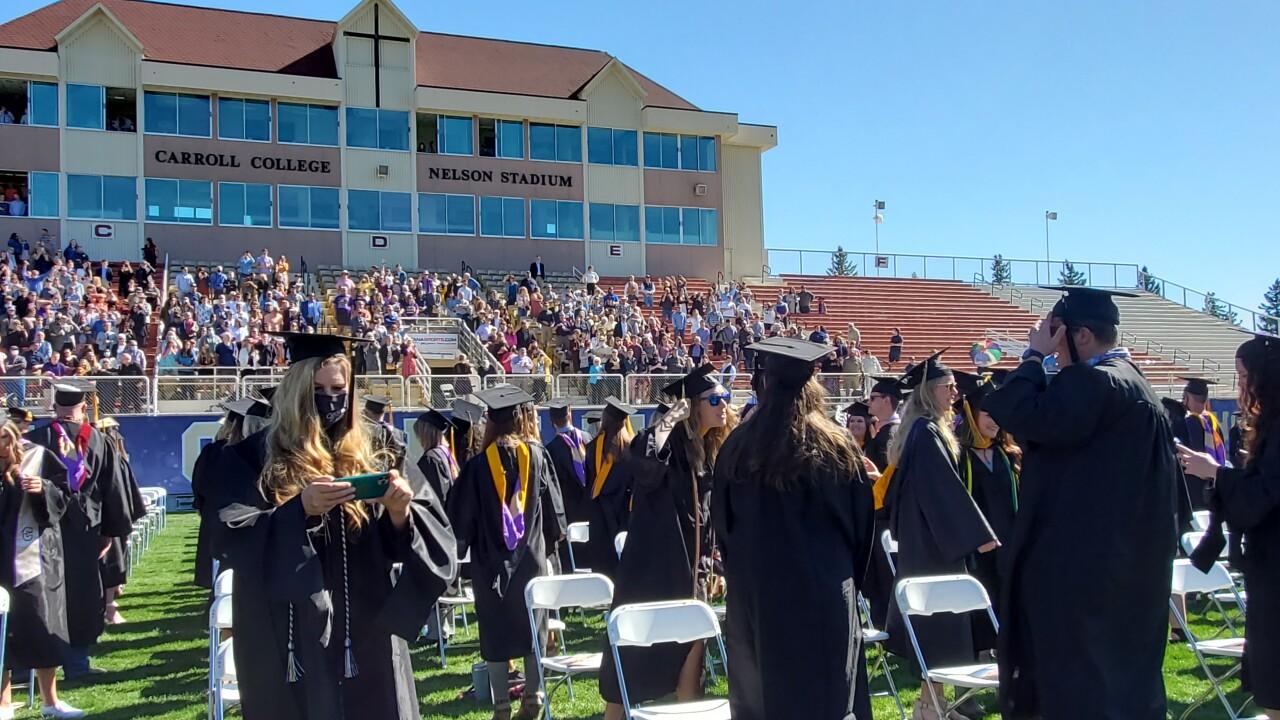 2021 Carroll College Grad