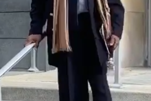 Curtis Joash after sentencing on January 13