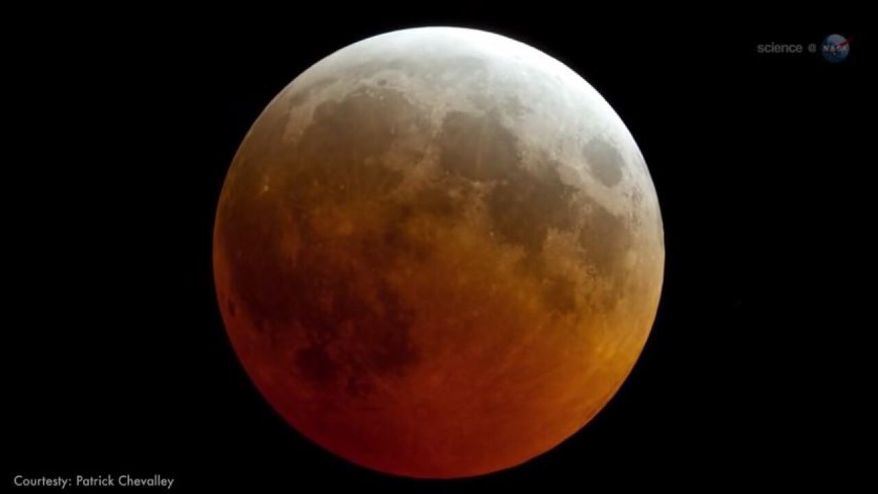 Wake up Wednesday morning to spot the Total Lunar Eclipse