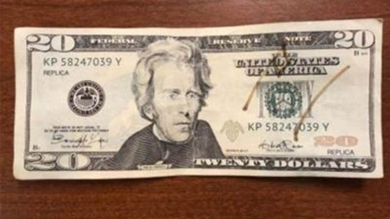 Counterfeit Township At Bill Bloomfield In Mcdonald's Passed