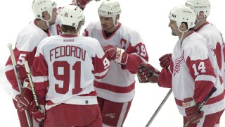 "Retiring Sergei Fedorov's number 91? Steve Yzerman said it ""will get a lot of consideration"""