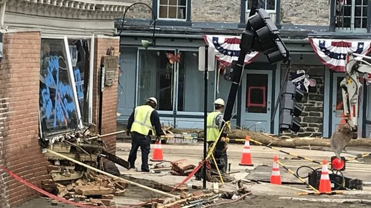 GoFundMe pages for restaurants in Old Ellicott City damaged by the floods