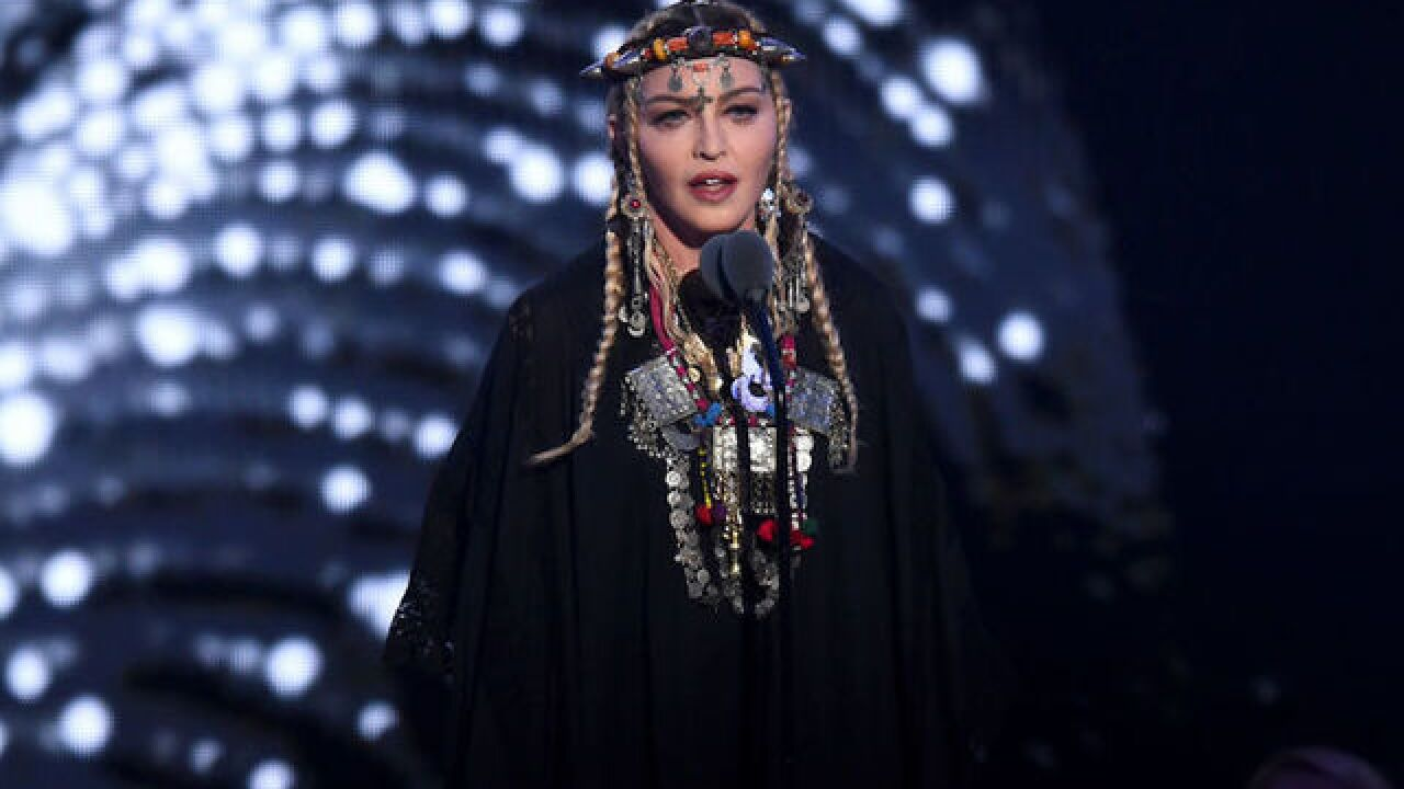 Madonna says speech at VMAs was not intended to be Aretha Franklin tribute