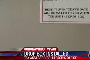 Nueces County Tax Assessor drop box installed