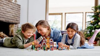 You Can Build A Lego Gingerbread House This Holiday Season