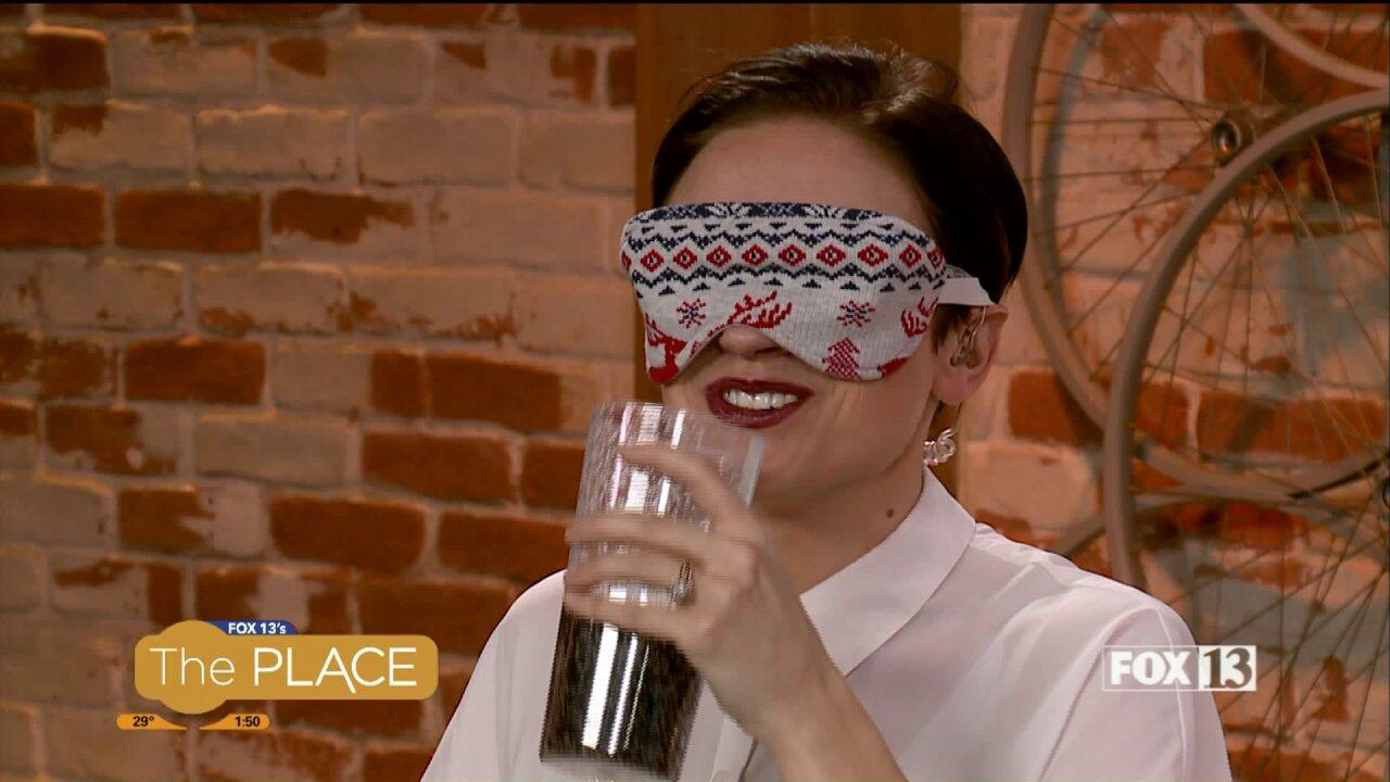 Blindfolded Hosts Taste-Test 3 Types ofSweets