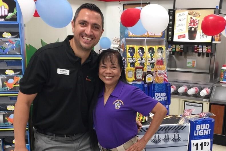 Photos: Chesapeake woman wins 7-Eleven franchisegiveaway