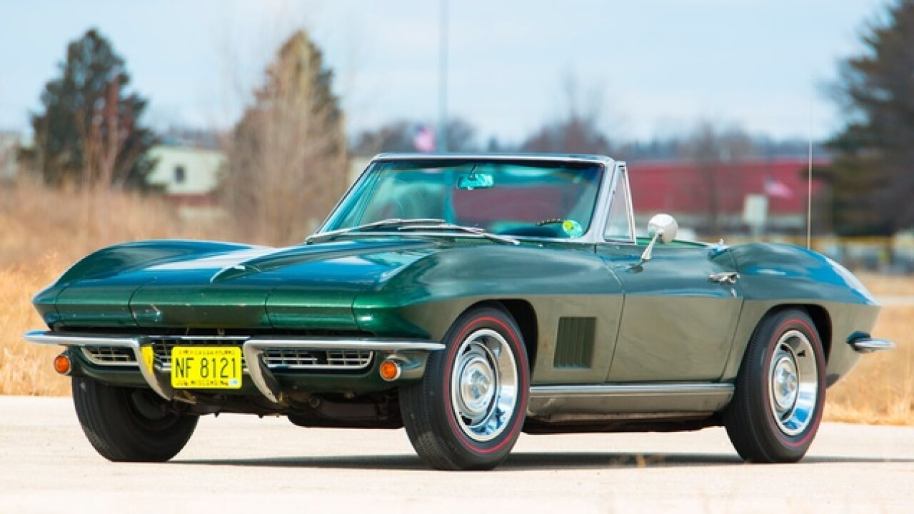 Bart Starr's SBI MVP 1967 Corvette heading to auction