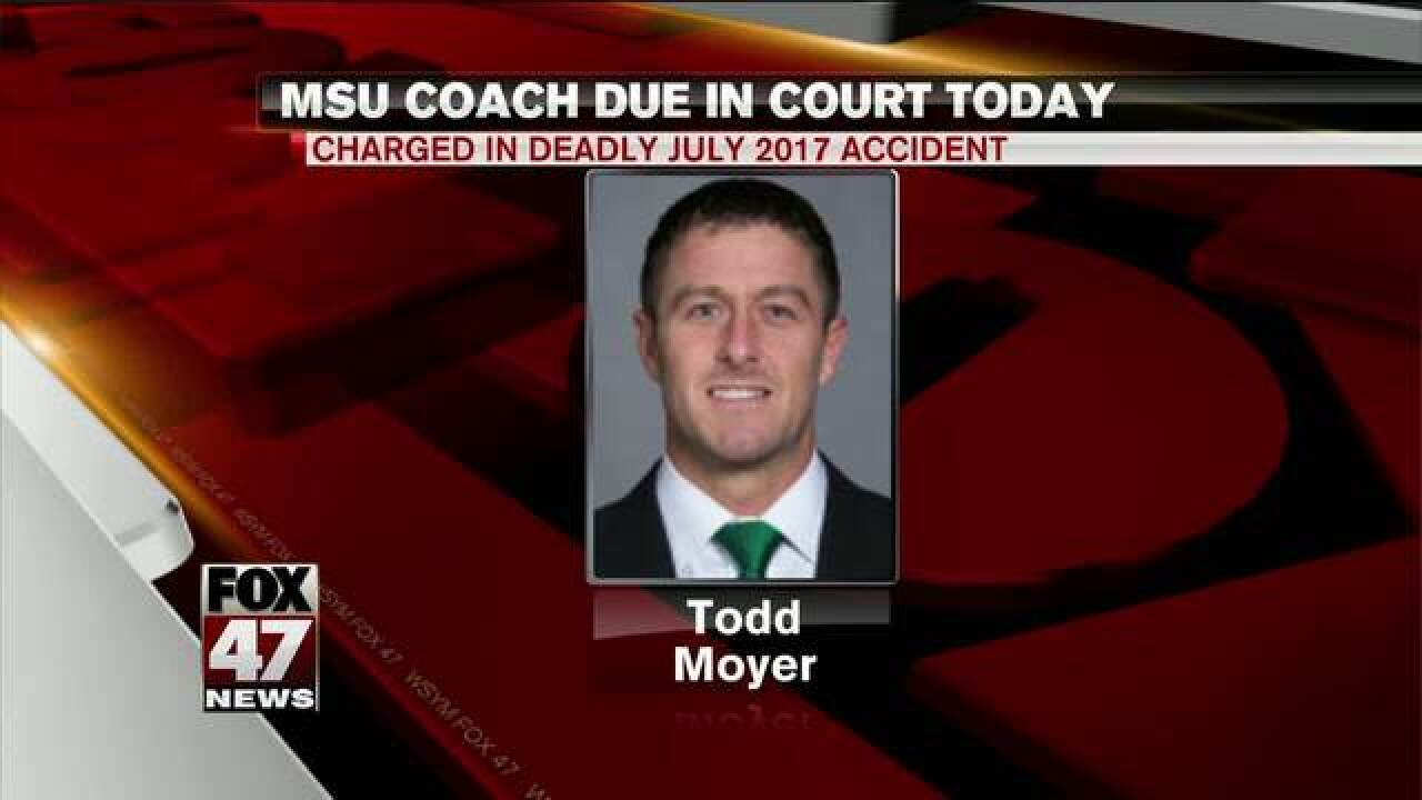 Hearing to wrap Wednesday for MSU coach charged