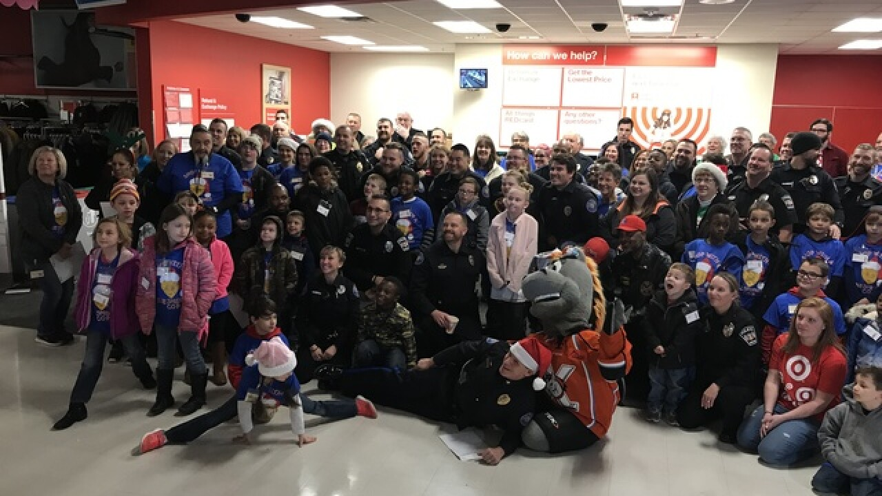 Shop with a cop helps Blue Springs youth