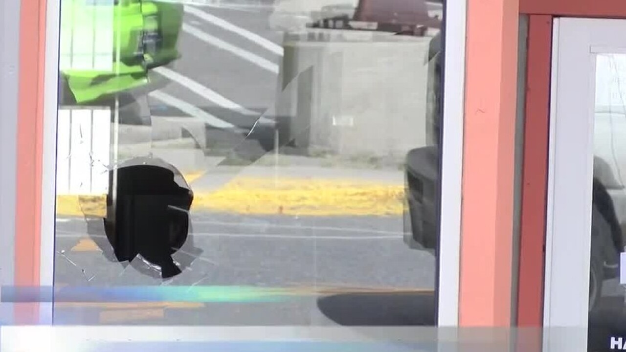 Butte businesses' windows reportedly smashed by man wanting to get arrested