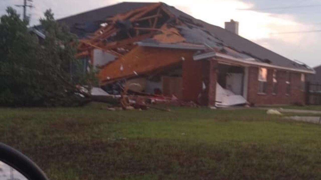 Tornado in central Texas damages nearly 200 homes, no injuries reported