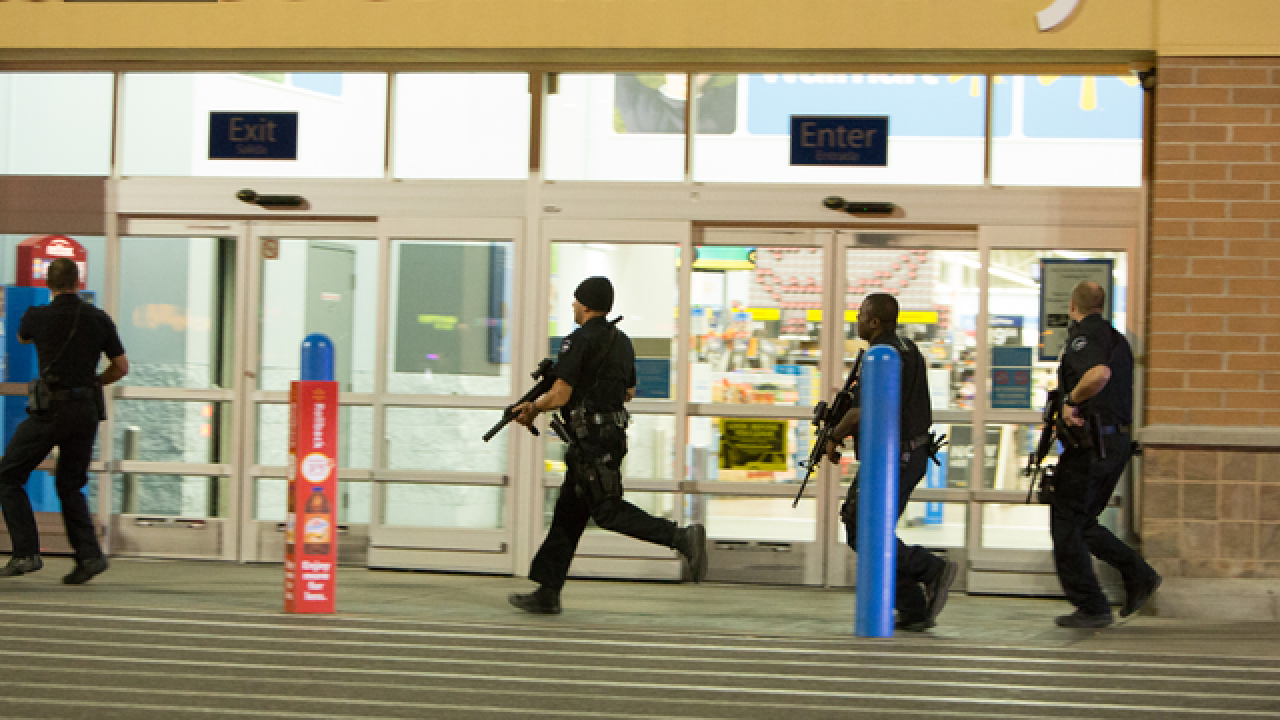 Walmart wrestles with how to respond to active shooters