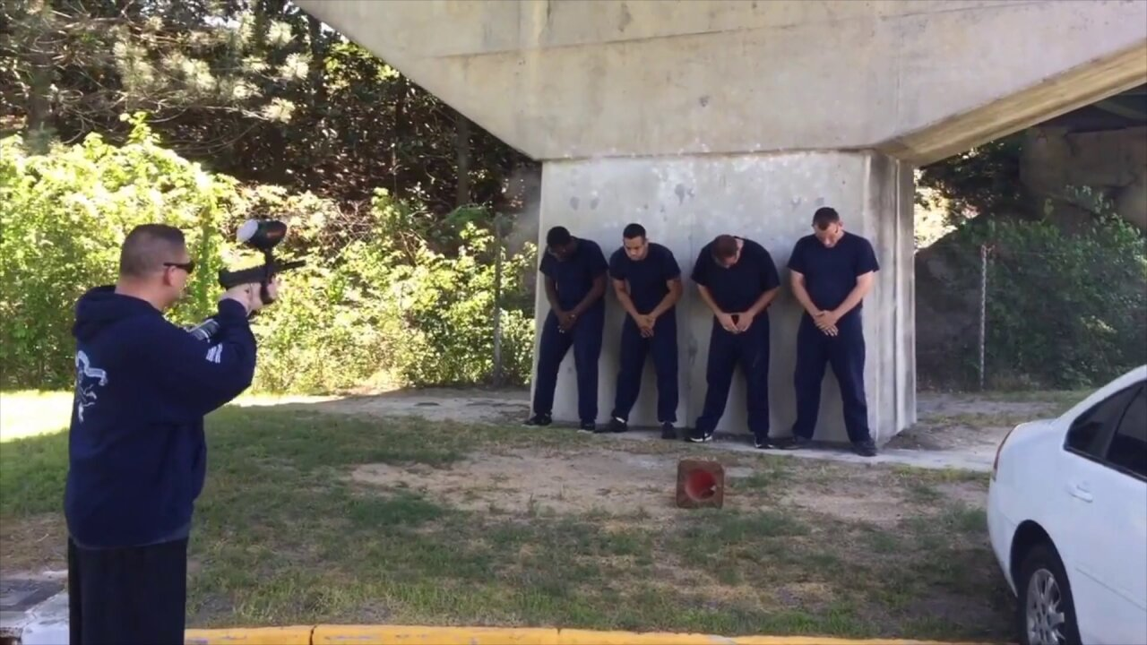 Norfolk Sheriff's Office gives News 3 a demonstration of their forcetraining