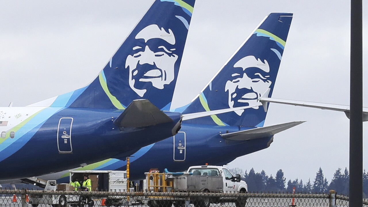 American Airlines Alaska Airlines