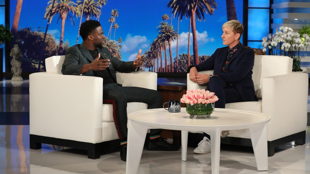 Ellen wants Kevin Hart to host Oscars, says comedian has 'grown'