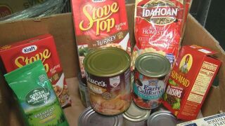 Crossfire Ministries is putting together 1,200 Thanksgiving meal baskets for families, and they need help with some smaller item donations.