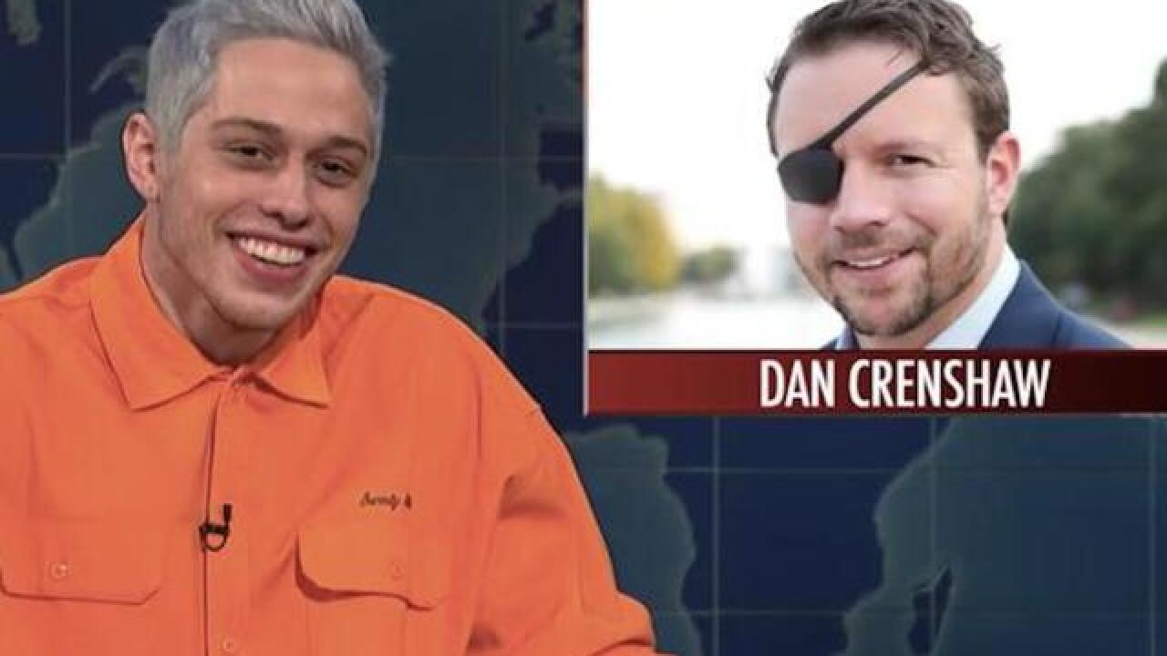 'SNL's' Pete Davidson mocks candidate who lost an eye in Afghanistan IED blast