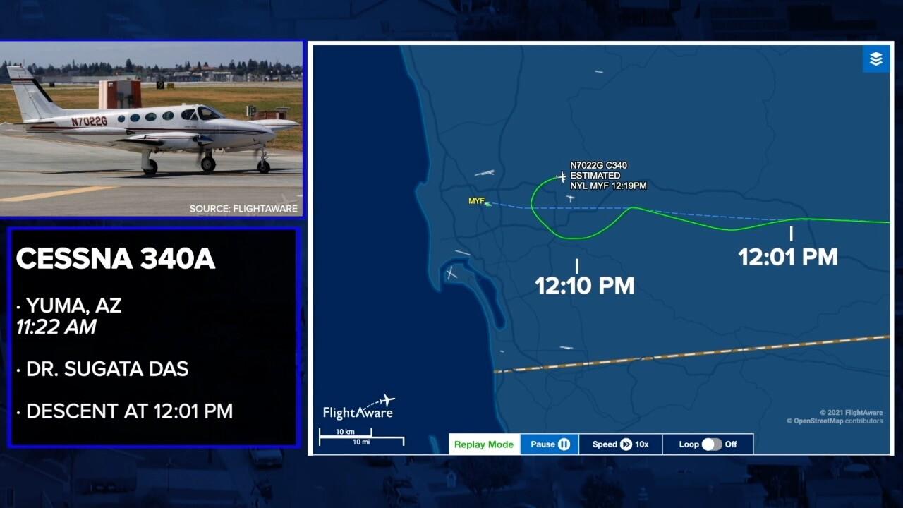 Santee mayor flight path
