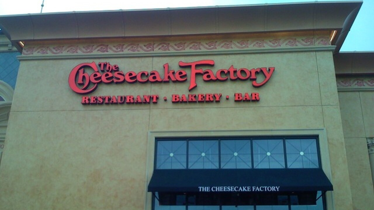 Get two free slices from The Cheesecake Factory