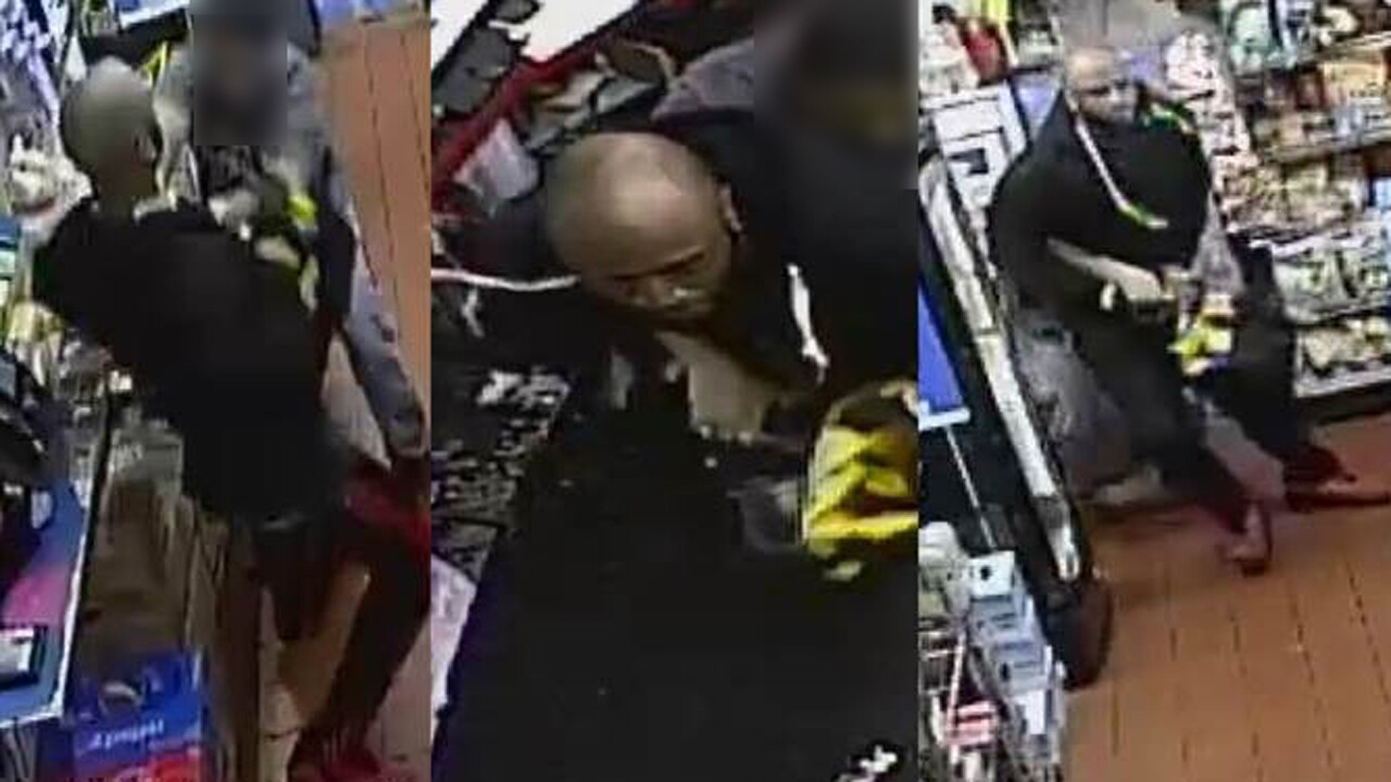 The Palm Beach County Sheriff's Office is looking for a man who shot a gas station clerk Aug, 12, 2020, is Lake Park, Fla.