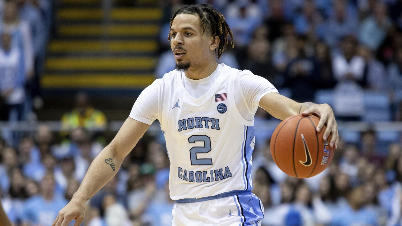 North Carolina's Cole Anthony