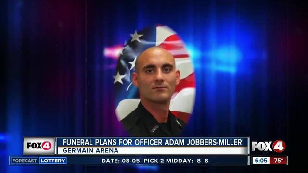 Funeral Monday for fallen Fort Myers officer