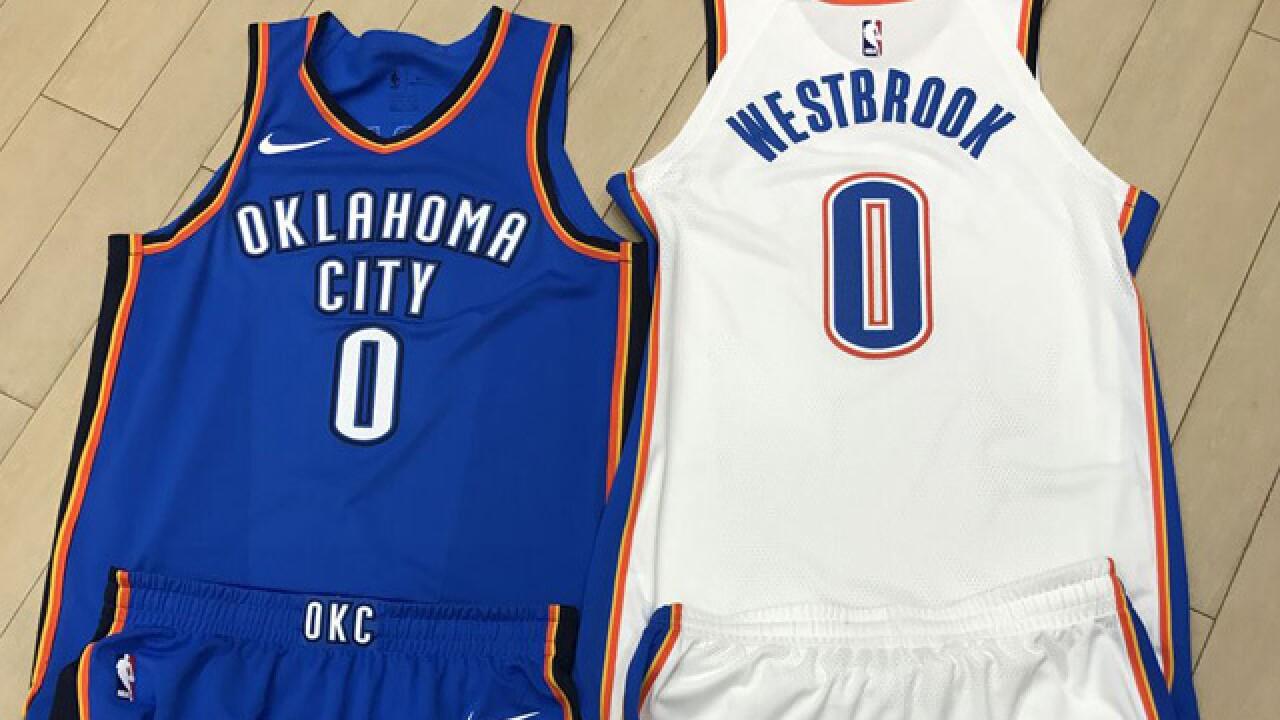 b0b400e5a Oklahoma City Thunder unveils new Nike uniforms