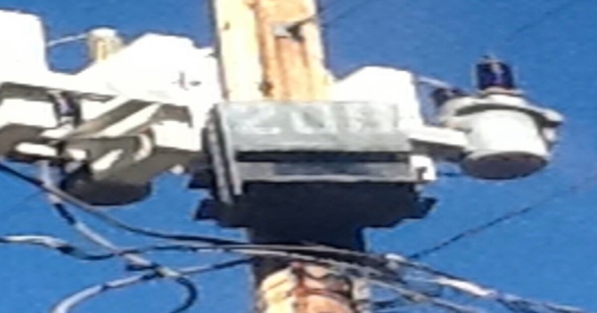 Mystery box on utility pole sparks questions