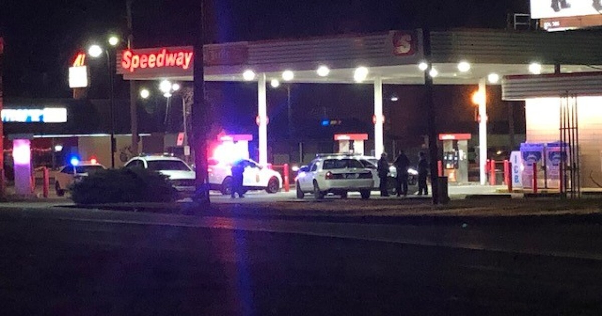 Pursuit ends in shots fired on south side of Indianapolis, police say