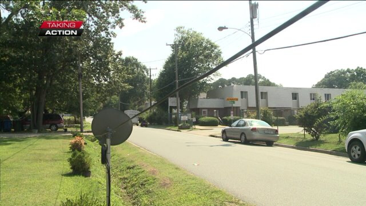 NewsChannel 3 takes action for neighbors concerned about low hanging cable